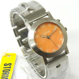 【送料無料】 腕時計 ビンテージオレンジstorm vintage watch illume orange