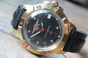 【送料無料】 腕時計 ボストークkomandirsky439452vostok komandirsky military wrist watch 439452