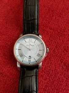 【送料無料】 腕時計 メンズシルバーケースブラウンレザーウォッチlucien piccard mens lp12358 cilindro silver case brown leather watch