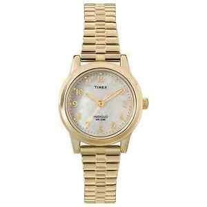 【送料無料】 腕時計 ウォッチ listingtimex t2m827, womens goldtone expansion watch, indiglo