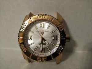 【送料無料】 腕時計 スチールゴールドトーンスイスブレスレットケース listingpre owned steel gold tone swiss legend commander no bracelet case only