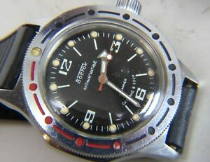【送料無料】 腕時計 ステンレススチール listingvostok wostok amphibian watch 17 j 2409 cal antimagnetic stainless steel
