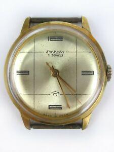 【送料無料】 腕時計 ビンテージソユダヤロシアソビエトvintage wrist watch raketa 2609b gold plated au20 21 jew soviet russian ussr