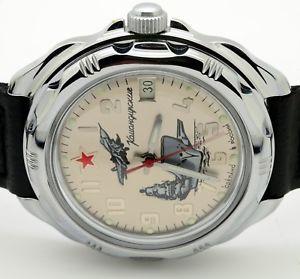 【送料無料】 腕時計 ロシアヴォストーク#russian vostok 211402 military wrist watch komandirskie brand