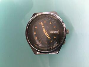 【送料無料】 腕時計 ビンテージロシアソロケットカレンダーメンズ