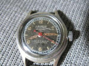 【送料無料】 腕時計 アンティークold antique antimagnetic wristwatch orator 1940s