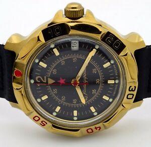 【送料無料】 腕時計 ロシアヴォストーク#russian vostok  819399 military wrist watch komandirskie brand