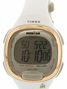 【送料無料】 腕時計 トランジットマットスポーツウォッチtimex womens ironman transit tw5m19900 matte white resin automatic sport watch