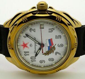 【送料無料】 腕時計 ロシアヴォストーク#russian vostok 219277 military wrist watch komandirskie brand