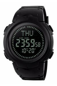 【送料無料】 腕時計 アクアフォースデジタルデュアルタイムウォッチデジタルコンパスmaqua force digital dual time watch w digital compass 50m water resistant
