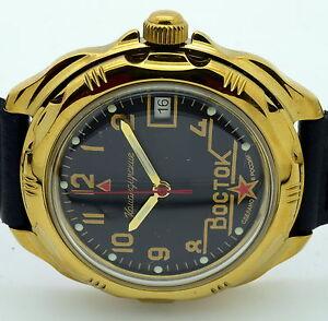 【送料無料】 腕時計 ロシアヴォストーク#russian vostok 219524  military wrist watch komandirskie brand