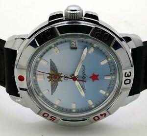 【送料無料】 腕時計 ロシアヴォストーク#russian vostok 431290 military wrist watch komandirskie brand