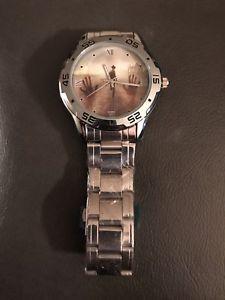 【送料無料】 腕時計 ウォーキングデッドカスタムフォトステンレススチールアナログウォッチthe walking dead custom photo stainless steel analog watch