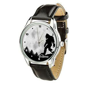 【送料無料】 腕時計 ビッグフットクリスマスbigfoot believe hide amp; seek wristwatch men women watch birthday christmas gift