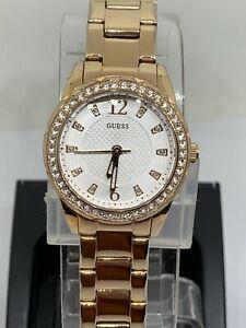 【送料無料】 腕時計 ローズゴールドウォッチguess u0445l3 rose gold watch