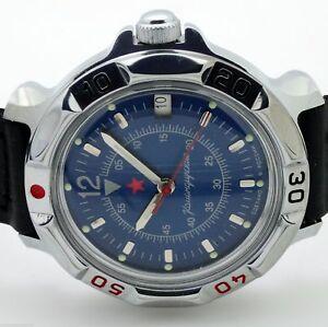 【送料無料】 腕時計 ロシアヴォストーク#russian vostok 811398 military wrist watch komandirskie brand