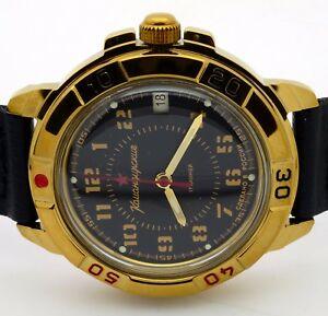 【送料無料】 腕時計 ロシアヴォストーク#russian vostok 439123 military wrist watch komandirskie brand