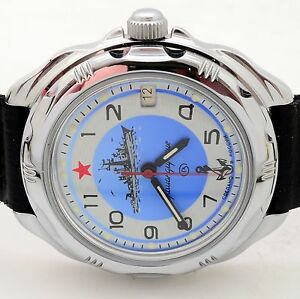 【送料無料】 腕時計 ロシアヴォストーク#ネイビーrussian vostok 211879 rus navy military wrist watch komandirskie brand