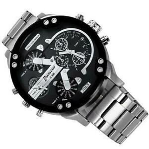 【送料無料】 腕時計 クオーツビジネスmilitary quartz business metal wristwatch