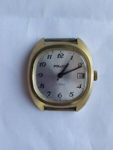 【送料無料】 腕時計 ソussr watch poljot gold plated au10