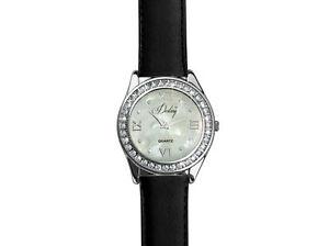 【送料無料】 腕時計 [スワロフスキーrクリスタル] [crystals from swarovski] destiny leather watch