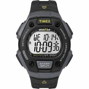 【送料無料】 腕時計 メンズラップアラームクロノグラフtimex tw5m09500, mens ironman 30lap resin watch, alarm, indiglo, chronograph