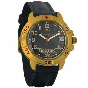 【送料無料】 腕時計 ヴォストークロシアスターウォッチvostok komandirskie 439524 military russian commander watch golden color star
