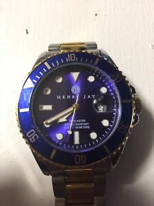 【送料無料】 腕時計 ヘンリーカケスaquamasterhenry jay aquamaster