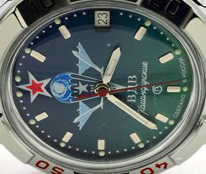 【送料無料】 腕時計 ロシアヴォストークブランドrussian vostok military wrist watch 431021komandirskie paratrooper brand
