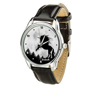 【送料無料】 腕時計 ユニコーンクリスマスunicorn funny wristwatch unicorns lovers men women watch birthday christmas gift