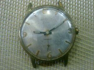 【送料無料】 腕時計 ヴィンテージスイスgold plated vintage old swiss made mens wrist watch