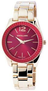 【送料無料】 腕時計 レッドゴールドアナログウォッチメタルwomens quartz watch red gold analogue metal wristwatch w60463611519695