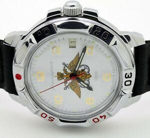 【送料無料】 腕時計 russian vostok431829rus navy emblemmilitary wrist watch komandirskie russian vostok 431829 rus navy emblem military wris