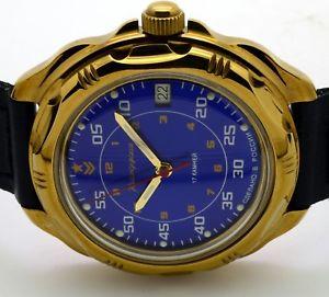 【送料無料】 腕時計 ロシアヴォストーク#russian vostok 219181  military wrist watch komandirskie brand
