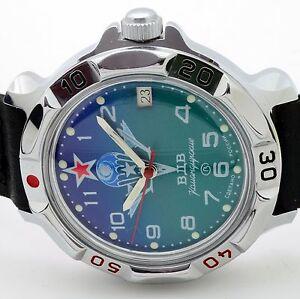 【送料無料】 腕時計 ロシアヴォストーク#russian vostok 811818 paratrooper military wrist watch komandirskie