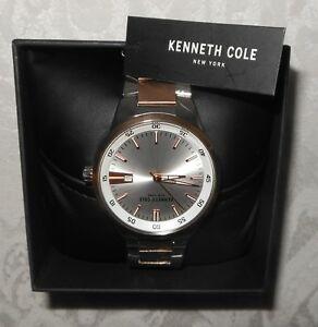 【送料無料】 腕時計 ケネスコールmens 2ステンレスkcc013100135ボックスnwtkenneth cole mens two tone stainless steel watch kcc013100 135 gift box nwt