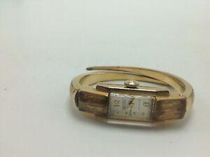 【送料無料】 腕時計 ミクロンビンテージスイスレディースゴールドernest borel incabloc watch 20 microns vintage swiss women's ladies gold tone