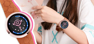 【送料無料】 腕時計 ノキータッチスクリーンcardcaptor kinomoto sakura star wand key led touch screen waterproof wrist watch