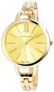 【送料無料】 腕時計 クオーツゴールドアナログメタルウォッチwomens quartz watch gold analogue metal wristwatch w60463611342650
