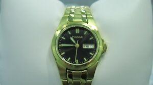 【送料無料】 腕時計 パルサードレスゴールドトーンステンレススチールウォッチstunning pulsar womens pxu030 dress goldtone stainless steel watch
