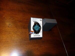 【送料無料】 腕時計 クリスタルアクセントシルバートーンブレスレットarmitron 205302 tlsvwm swarouski crystal accented silvertone bracelet watch