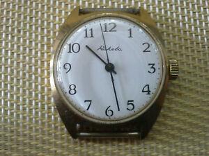 【送料無料】 腕時計 ビンテージソウォッチvintage gold plated ussr made mens wrist watch raketa