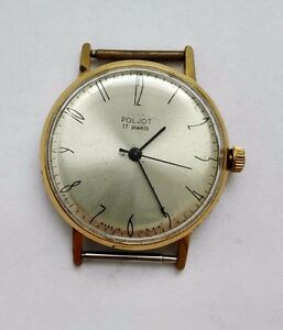 【送料無料】 腕時計 ソビンテージサービスpoljot 196575 ussr vintage watch 17 jewels au 20 very rare serviced