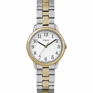 【送料無料】 腕時計 リーダートーンウォッチtimex tw2r58800, easy reader, womens 2tone expansion watch, indiglo
