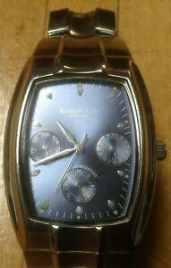 【送料無料】 腕時計 ケネスニューヨークメンズステンレススチールウォッチkenneth cole york mens multifunction stainless steel watch