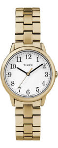 【送料無料】 腕時計 リーダーウォッチtimex tw2r58900, easy reader, womens goldtone expansion watch, indiglo