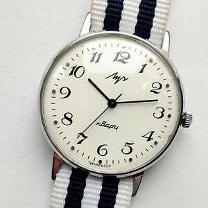【送料無料】 腕時計 クオーツウルトラスリムラグジュアリーソluch quartz ultra slim luxury ussr watches 1980s