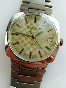 【送料無料】 腕時計 ビンテージソvintage soviet union poljot 17 jewels