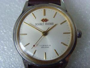 【送料無料】 腕時計 ヴィンテージダブルマニュアルウォッチvintage double rhomb 17j manual watch
