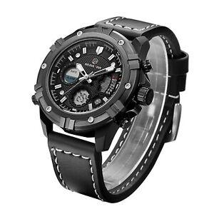 【送料無料】 腕時計 メンズデュアルタイムゾーンアナログアンプデジタルアメリカexcellent quality mens dual time zone analog amp; digital watch ships from usa